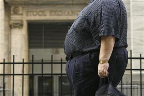 Американец, страдающий ожирением