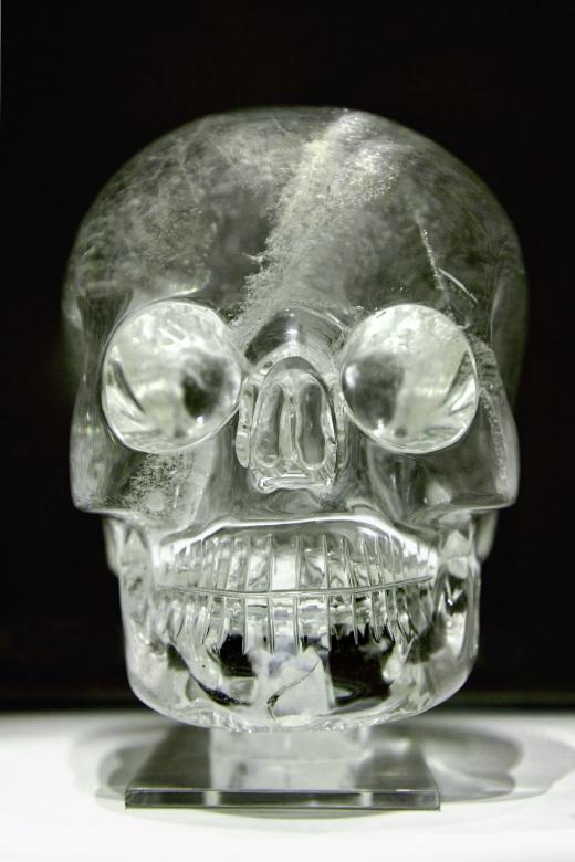Хрустальный череп Британского Музея