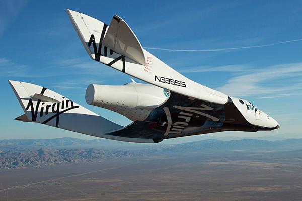 корабль для проекта Virgin Galactic