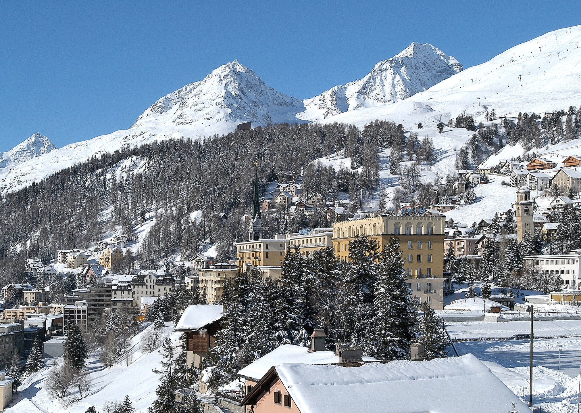 гостиницы в швейцарии