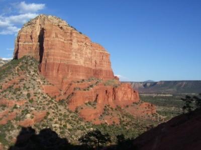 гора в пустыне Сонора