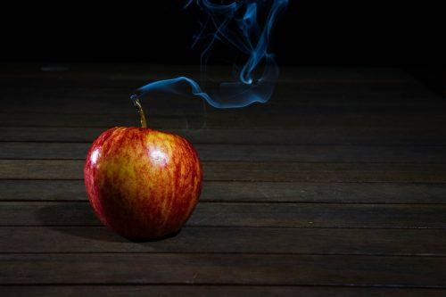 похудение яблоко